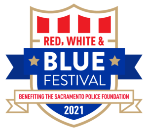 Red, White, and BLUE Festival logo